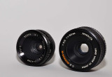 Bogen and Minolta enlarging lenses (for macro use with bellows)