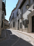 typical streetview in Chinchón
