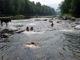 Ausable River---The rest of my family in there as well!