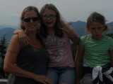 Nancy and the girls on Whiteface