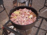 Delicious Baked Beanswith ham, pineapple,& green chilis