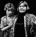 Carolyn Aaron (left) with  Jane Chambers