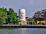 Giant Singha beer can