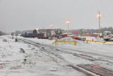 DeBeers yard along tracks to wye and airport 2011 Feb 18