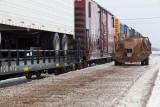 Freight in Moosonee 2011 February 18th