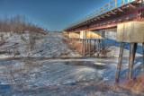 Railway bridge over Store Creek