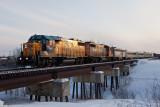 Special Sunday Hockey train arrives in Moosonee 2012 March 4th