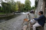 Visite du village de Moret-sur-Loing résidence d'Alfred Sisley à la fin de sa vie