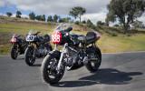 Irving Vincents at Broadford Motorcycle Track