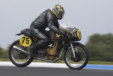 Dave Cole Matchless at 2008 Island Classic