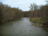 Spring, Humber River, Rowntree Mills Park, Toronto, Ontario