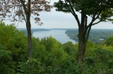 Niagara River from Brock's Monument, Queenston Heights