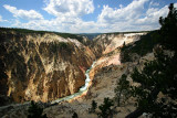 From Inspiration Point, Yellowstone Canyon, Yellowstone National Park
