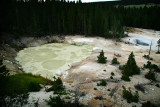 Sulphur Caldron, Yellowstone National Park
