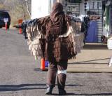 Samiha in her Rough-legged Hawk costume