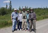 The birding group, after an extra fun day of birding