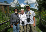 After a day of guiding & birding with my good friends from Ohio, Bob & Paula