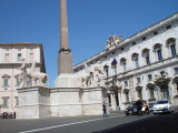 The Palazzo Quirnale (Quirnale Palace).