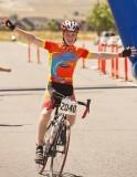 Grandson finishing the 2011 ULCER Century Ride.jpg