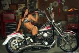 Corine and custom Harley 9_26_11
