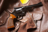 Smith & Wesson 1950 Target .44 Special right side