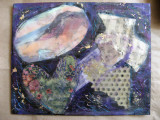 Besso Encaustic Creation Collage Thou 2011