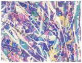 Besso Pollock Handmade Card 1988