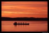 Anchored at sunrise