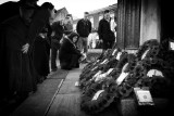 At our local Remembrance service [2]