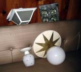 porch light, sciolari (?) ice cube light, little starburst and LOVE the star canopy light!