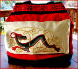 Celtic dragon zipper pocket.JPG