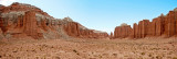 Cathedral Valley Panorama