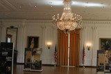replica of the East Room of the White House