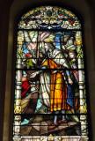 Jesus am See Genezareth Glasbild in St.Louis Cathedral.jpg