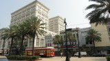 Ritz Carlton Hotel and Street Tram.JPG