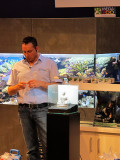 Aquascaping show in Austria with Oliver Knott