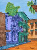 Painting of Casco Veijo