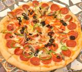 Pepperoni & Veggie Pizza