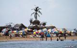 Beach scene on Isla Taboga