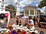Panama hat shopping in Casco Viejo