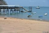 The pier on Isla Taboga