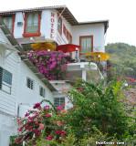 Hotel and restaurant on Isla Taboga