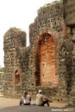 Sitting among the ruins
