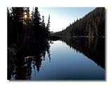 Dream Lake Silhouette