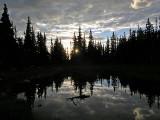 Mitchell Lake Silhouette