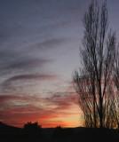 Sunset from Apaloosa Street, Pocatello