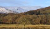 Glen Finlas hills from Ross Park, Loch Lomond