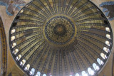 The main dome of the Hagia Sofia, Istanbul