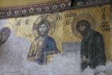 The Deësis mosaic, Hagia Sofia, Istanbul