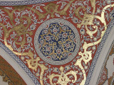 Ceiling decoration in the Divan, Topkapi Palace, Istanbul
